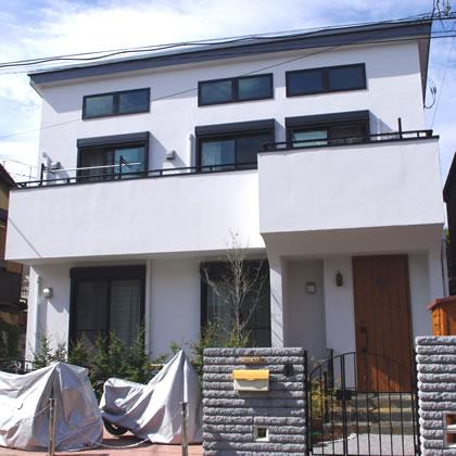 都内23区 倉沢工務店で作る注文住宅 セレーヌ 高気密高断熱・しっくいの家プラン