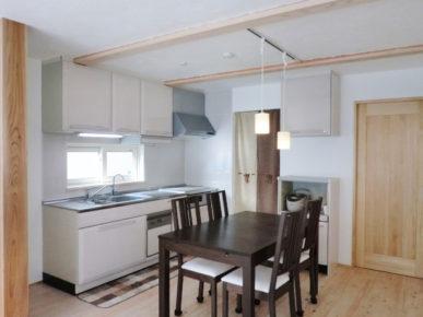 市川市 漆喰の家 キッチン