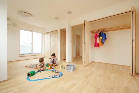 分けられる子供部屋