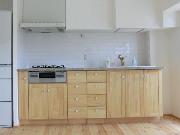 タイル壁 キッチン
