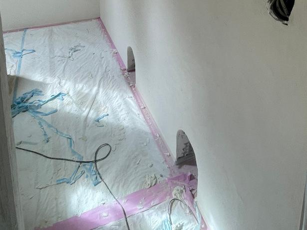 漆喰の内壁