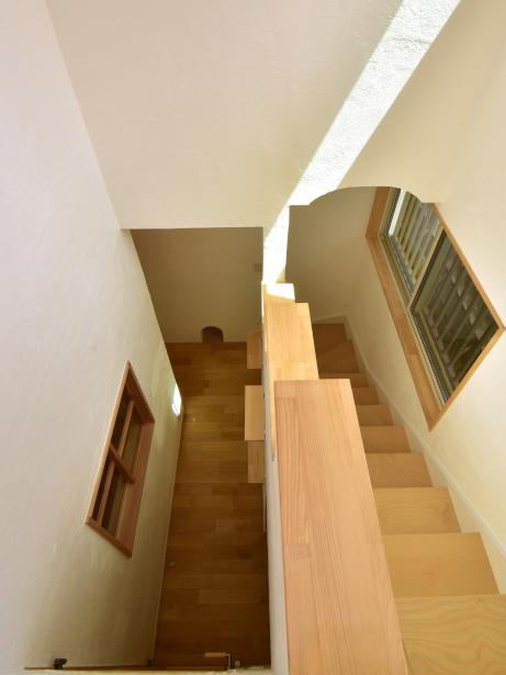 段差の少ない階段